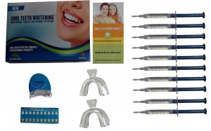 Cool Teeth Whitening Kit with 10 Syringes